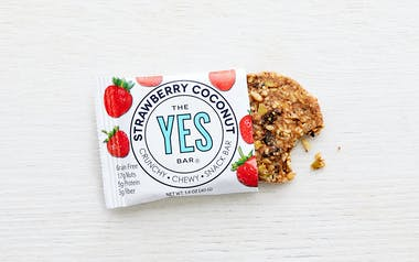 Strawberry Almond Coconut Bar (Vegan, Gluten-Free)