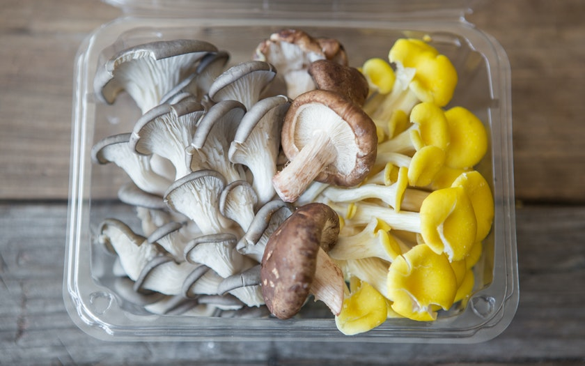 Fresh Organic Exotic Mix Mushrooms