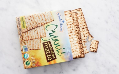 Organic Whole Wheat Matzo