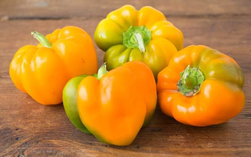 Organic & Fair Trade Orange Bell Peppers (Mexico)