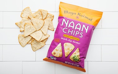 Almost Everything Naan Chips
