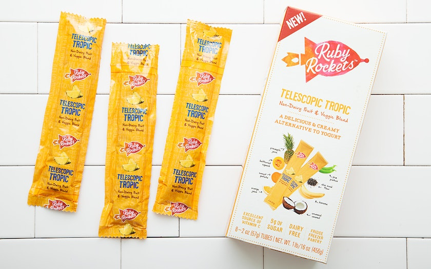 Telescopic Tropic Non-Dairy Yogurt Tubes