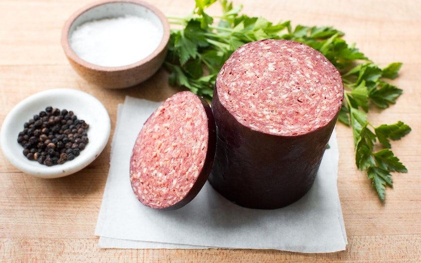 Grass-fed Beef Summer Sausage (Frozen)