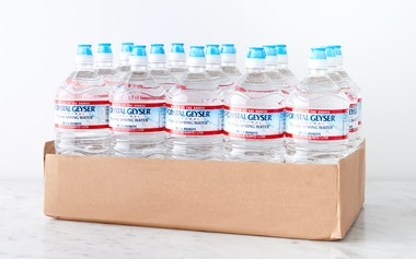 Case of Natural Spring Water