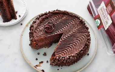 Organic Chocolate Layer Cake