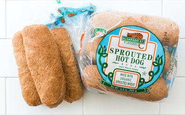 Sprouted Wheat Hot Dog Buns