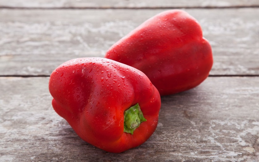 Organic & Fair Trade Red Bell Peppers (Mexico)