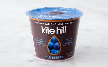 Blueberry Almond Milk Yogurt