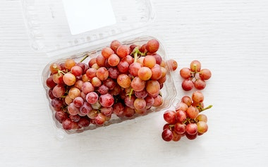 Organic Seedless Red Flame Grapes