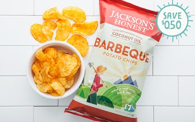 Barbeque Coconut Oil Potato Chips