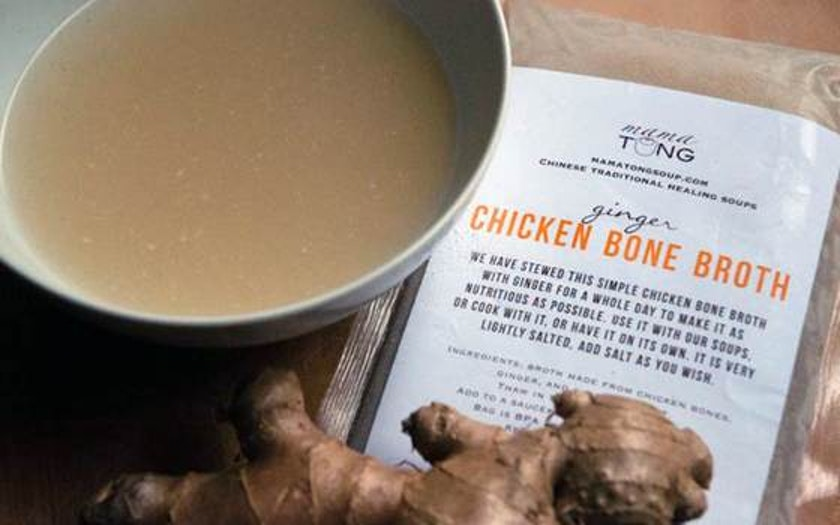 Ginger Chicken Bone Broth
