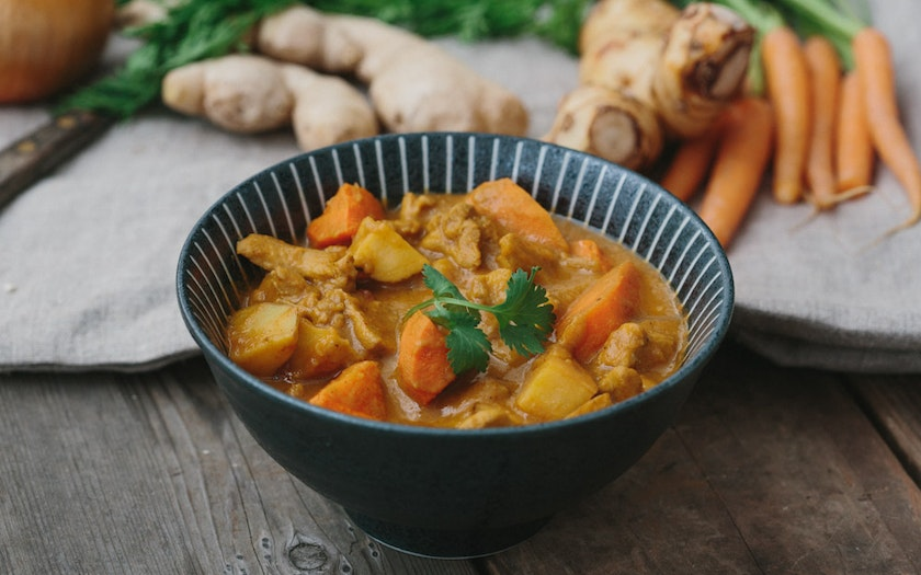 Sister-in-law's Chicken Curry Stew