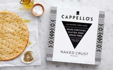 Gluten-Free Naked Pizza Crust