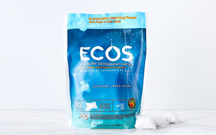 Free & Clear Laundry Pods - ECOS - SF Bay | Good Eggs