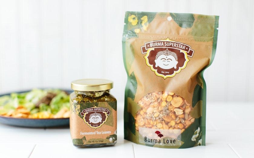 Fermented Tea Leaf Salad Kit - Burma Love Foods Company