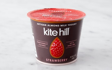 Strawberry Almond Milk Yogurt