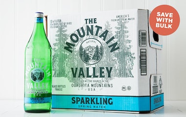 Case of Sparkling Spring Water