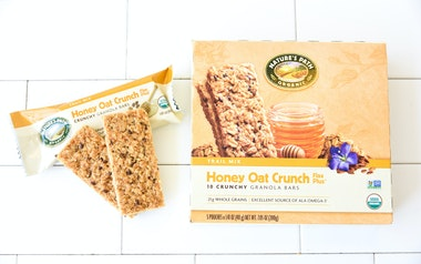 Honey Oat Crunch Bars