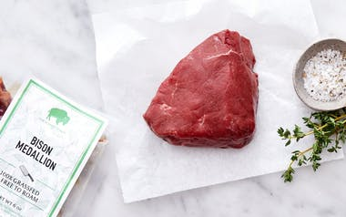 Grass-Fed Bison Medallion (Frozen)