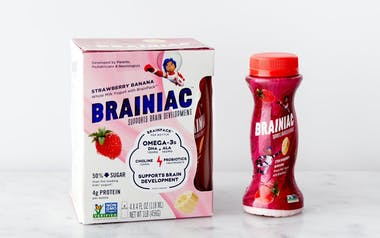 Strawberry Banana Drinkable Yogurt with Brainpack™