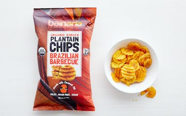 Organic Brazilian Barbecue Plantain Chips