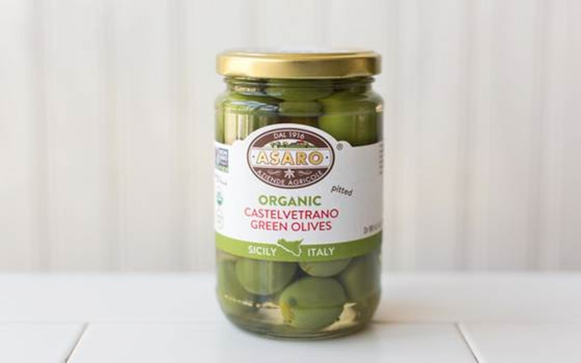 Organic Pitted Castelvetrano Olives