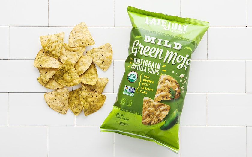 "Organic ""Green Mojo"" Multigrain Tortilla Chips"