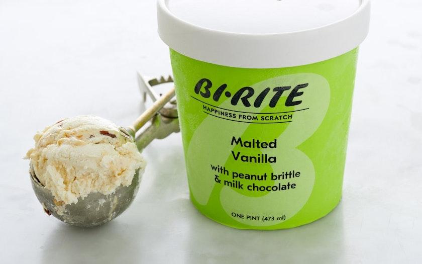 Malted Vanilla Peanut Brittle Ice Cream - Bi-Rite Creamery ...