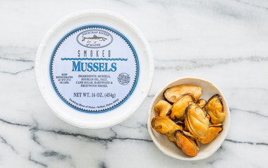 Smoked Mussels (Frozen)