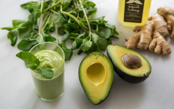 Honey-Lime Whey & Avocado Smoothie, Makes 3-4 Drinks
