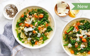 Winter Minestrone with Beans & Greens