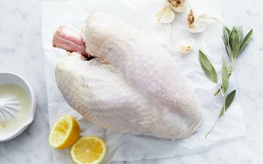 Pasture-Raised Bone-In Whole Turkey Breast (Frozen)