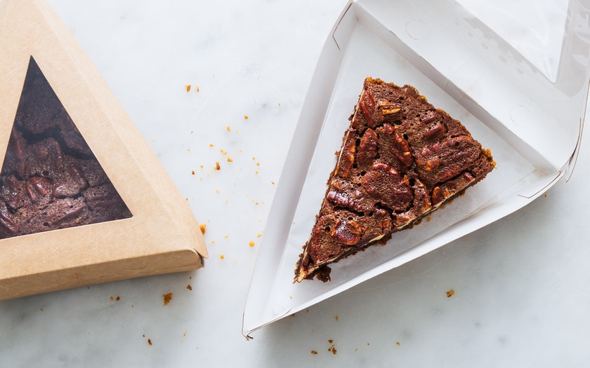 Bittersweet Chocolate Pecan Pie Slice (Frozen) - Three ...