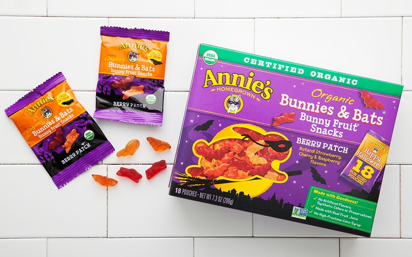 Organic Halloween Fruit Snacks (Vegan)