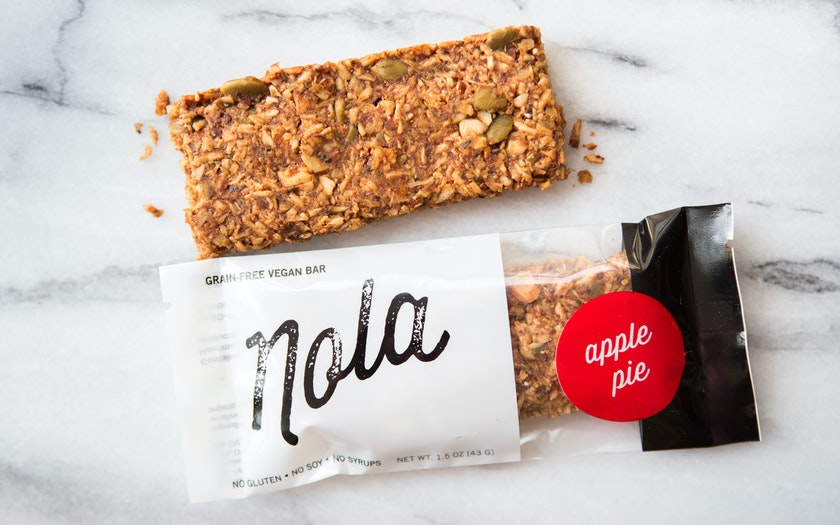 Gluten-Free Nola Apple Pie Paleo Bar