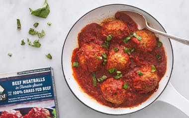 Grass-Fed Beef Meatballs