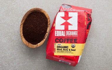 Organic Mind, Body & Soul Ground Coffee