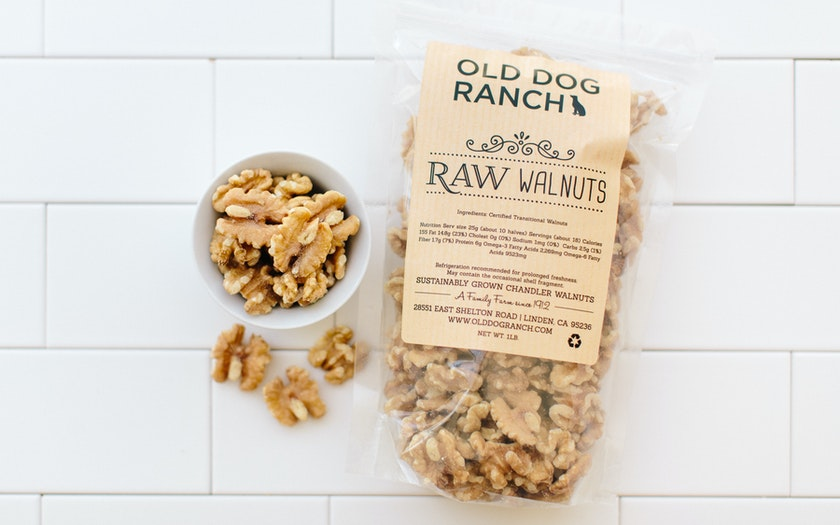 Organic Raw Chandler Walnut Halves
