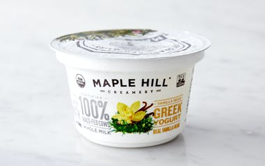 Organic Grass-Fed Vanilla Greek Yogurt