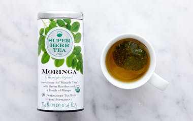 Organic Moringa SuperHerb Tea