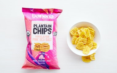 Organic Himalayan Pink Sea Salt Plantain Chips