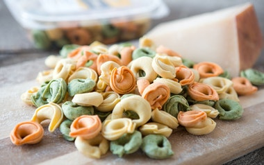Tri-Color Cheese Tortellini