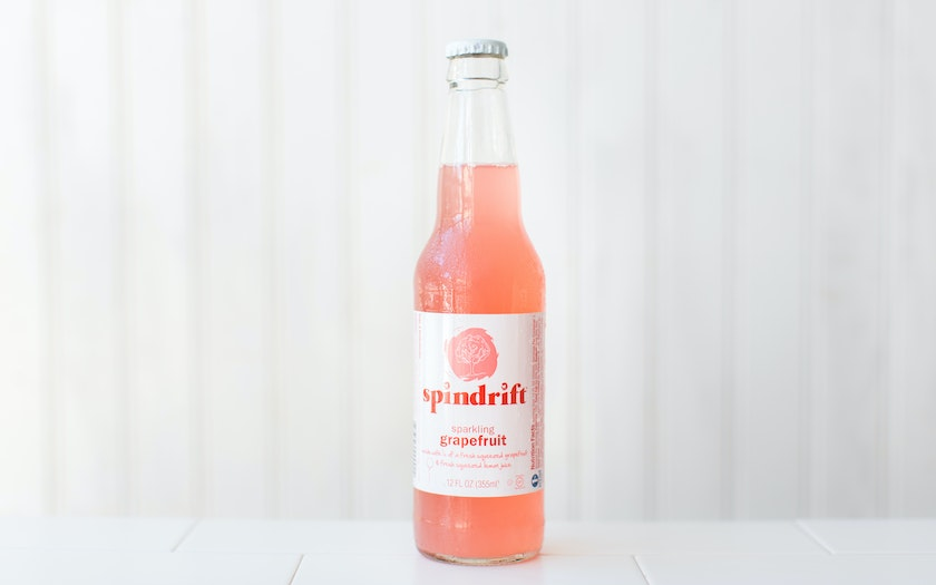Sparkling Grapefruit Soda