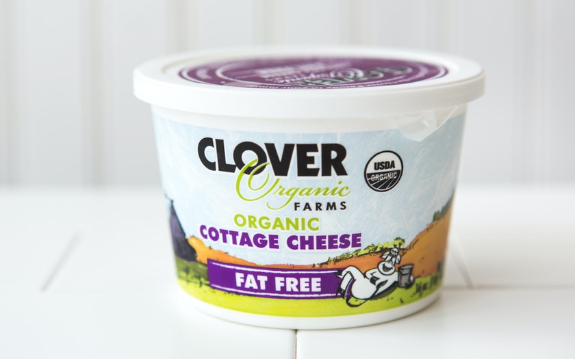 Organic Fat Free Cottage Cheese