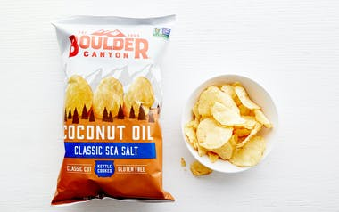 Sea Salt Coconut Oil Potato Chips