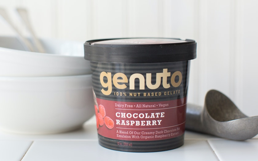 Chocolate Raspberry Dairy-Free Gelato