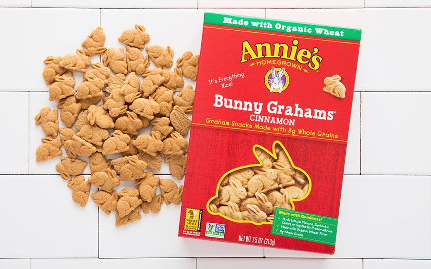 Cinnamon Bunny Grahams Snack Cookies