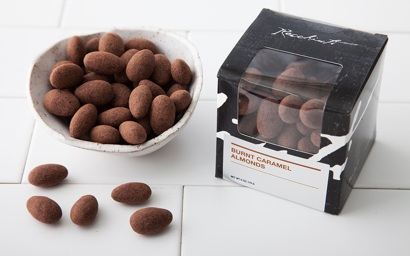 Burnt Caramel Almonds