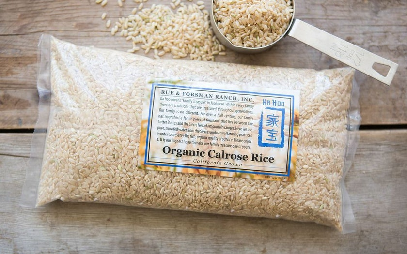 Organic Calrose Brown Rice