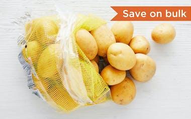 Bulk Organic Yellow Potatoes